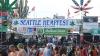 В американском Сиэтле прошел фестиваль марихуаны