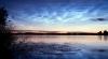Фотограф запечатлел серебристые облака на фоне северного сияния (ВИДЕО)