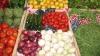 На столичных рынках большой выбор сезонных фруктов и овощей