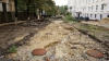 Открытие пешеходной зоны в центре столицы снова переносится (ФОТОРЕПОРТАЖ)