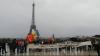 Хора у Эйфелевой башни: в Париже отметили День независимости Молдовы