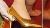 Итальянский дизайнер Альберто Моретти  создал туфли, покрытые золотом в 24 карата