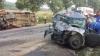 ДТП под Чимишлией: микроавтобус с 16 пассажирами столкнулся с такси (ФОТО/ВИДЕО)