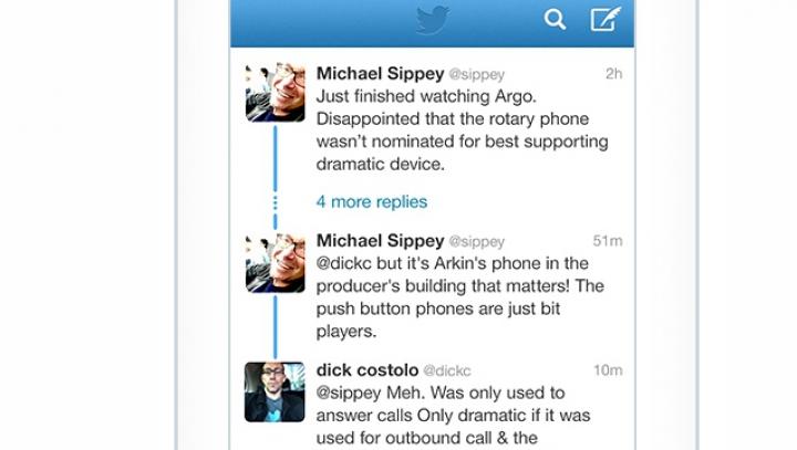 Twitter облегчил просмотр переписки