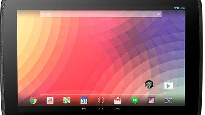Над новым планшетом Nexus 10 вместе с Google работает ASUS