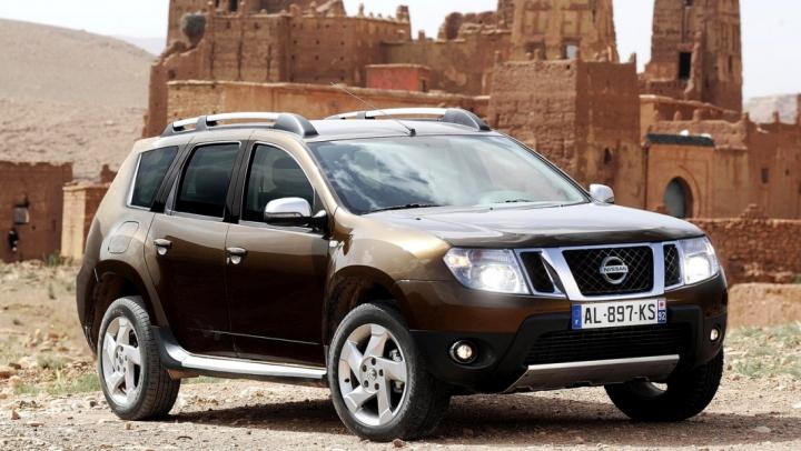 Nissan возродил модель Terrano