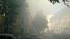 Пожар в здании одного из телеканалов, центр Кишинева в дыму ФОТО