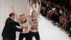 Femen устроила свою акцию на показе известного дизайнера