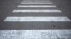 На дорогах Кишинева появились новые пешеходные переходы