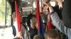 Коммунисты отправились на вторую акцию протеста на троллейбусе