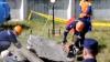 Имитация землетрясения в Штефан-Водэ: разрушенные дома, заблокированные в машинах и под завалами люди (ВИДЕО)