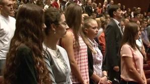 Университеты провели накануне торжественные собрания для первокурсников
