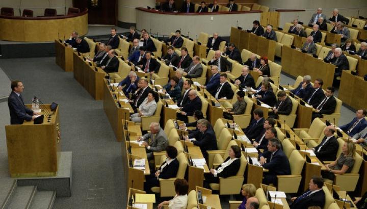 Госдума приняла заявление о давлении ЕС на Украину и постсоветские страны