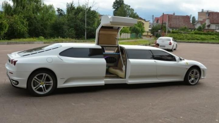 Украинцы сделали шикарный лимузин из Peugeot 406 Coupe (ВИДЕО)