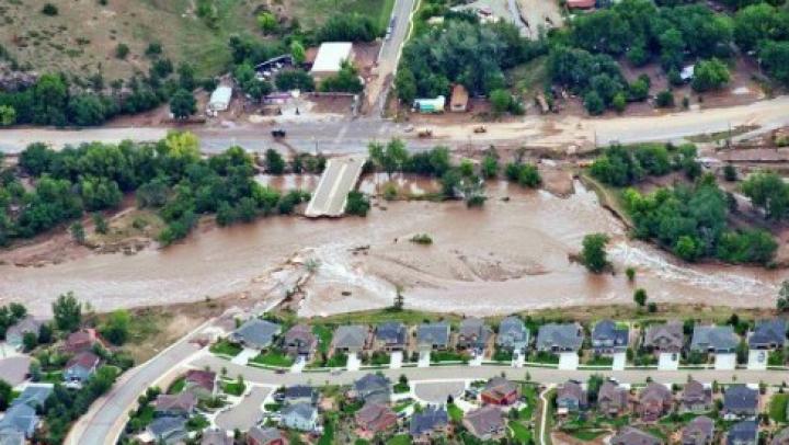 В Колорадо из-за наводнений более 1,2 тыс человек числятся пропавшими без вести