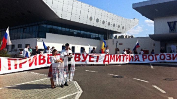В кишиневском аэропорту Рогозина ждал сюрприз (ФОТО)