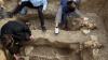 Археологи обнаружили останки лошадей, похороненных в вертикальном положении