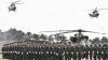 В Южной Корее прошел крупнейший за последние 10 лет военный парад