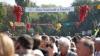 Сотни человек отмечали День вина до полуночи