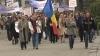 Около 200 мэров со всей страны вышли на акцию протеста в Кишиневе