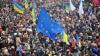 """Участники """"евромайданов"""" на Украине думают организовать """"живую цепь"""" до границы с Польшей"""
