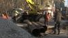 В центре Кишинева идут ремонтные работы, автомобилисты согласны мириться с неудобствами в выходные