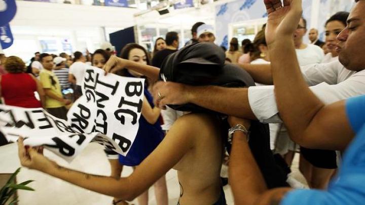 FEMEN подрались с проститутками в Берлине