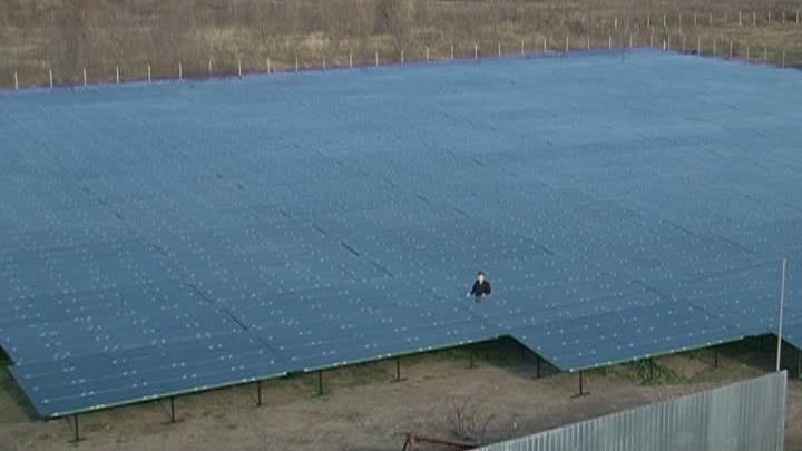 В Молдове откроется самый большой парк солнечных батарей
