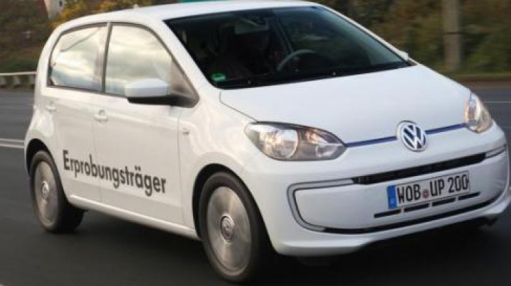 Volkswagen рассказал о гибридном Up!