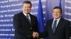 Янукович и Баррозу договорились о визите украинской делегации в ЕС