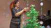 Кампания Publika TV: Ёлка Марианы Савы выполнена в японской технике оригами