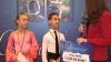 Publika TV подарила десятилетнему Семену, увлеченному спортивными танцами, 2000 евро