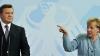 """Меркель предостерегла Януковича от """"насильственного подавления протестов"""""""