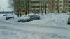 Сугробы в столичных дворах: у кишиневских многоэтажек снег до сих пор не убрали
