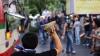 В Таиланде накануне парламентских выборов столкнулись сторонники и противники власти