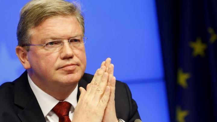 Фюле осудил захват админзданий в Киеве