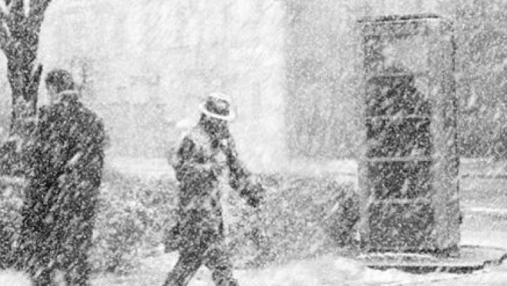 В Японии из-за снегопадов отменили сотни рейсов