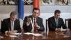 Влад Филат, Мариан Лупу и Ион Хадыркэ подписали соглашение о коалиции в регионах