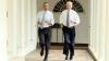 Обама и Байден пробежались по Белому дому во имя здорового образа жизни (ВИДЕО)