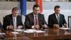 Филат, Лупу и Хадыркэ проведут пресс-конференцию. Прямая трансляция события - на Publika TV