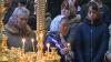 Сотни верующих пришли в Кафедральный собор, чтобы причаститься