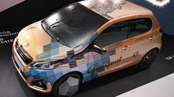 Peugeot представила хэтчбек с крышей, обтянутой натуральной кожей