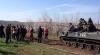 В Краматорск вошли несколько бронетранспортеров украинской армии