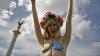 Femen устроили акцию протеста в поддержку Украины в Женеве