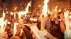 Каждый год православные христиане всего  мира ждут чуда - схождения Благодатного огня