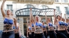 Активистки Femen выступили против эпидемии фашизма в Европе