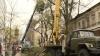 В связи с обрезкой деревьев по улице Болгарской образовались пробки