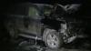 На трассе Кишинев-Оргеев автомобиль врезался в дерево и загорелся (ВИДЕО)