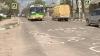 В Бельцах выбоины на дорогах обведены белой краской