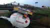 Близ Сынжерей перевернулась автоцистерна с 24 тоннами солярки